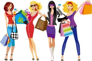 shopping-girls-vector-illustration_53-9614