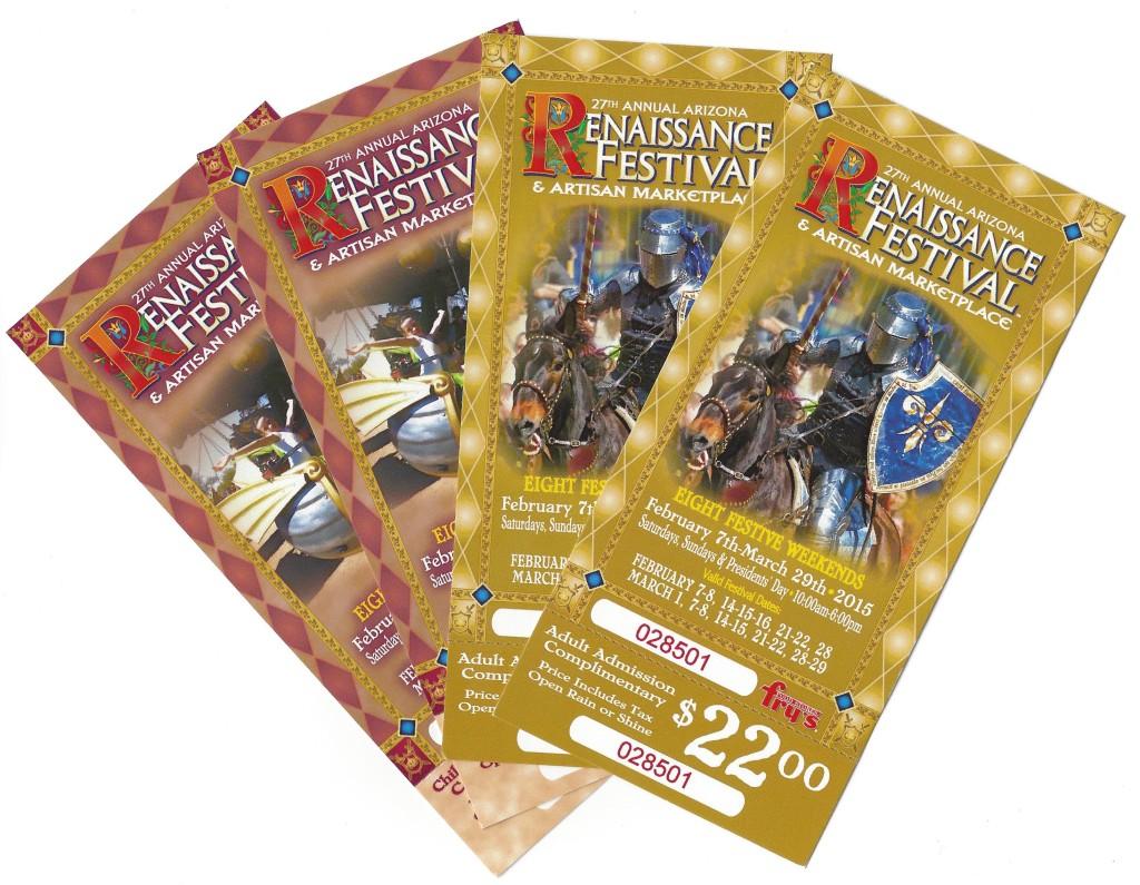 Renaissance festival az coupons 2018