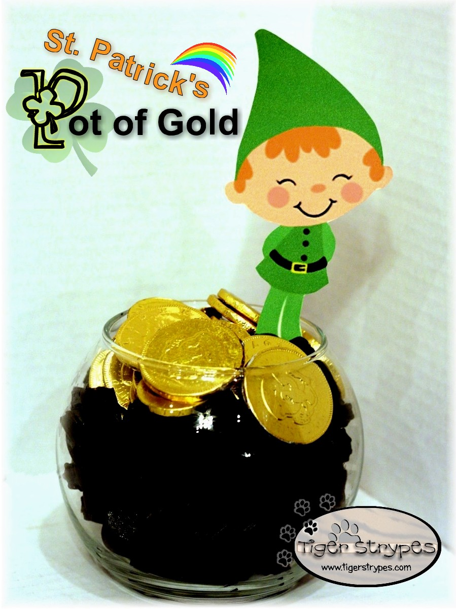 a sweet gift of st patrick u0027s pot of gold tbccrafters