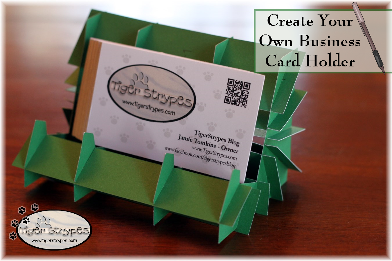 Make your own business card holder tbccrafters holder colourmoves
